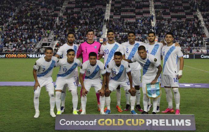 Este es el once que jugó ante Guadalupe y quedó eliminado en la ronda preliminar de Copa Oro 2021. Foto Prensa Libre: Fedefut