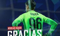 Nicholas Hagen ya no jugará en el Club Sabail FC, según lo confirmó el club. (Foto Sabail FC).