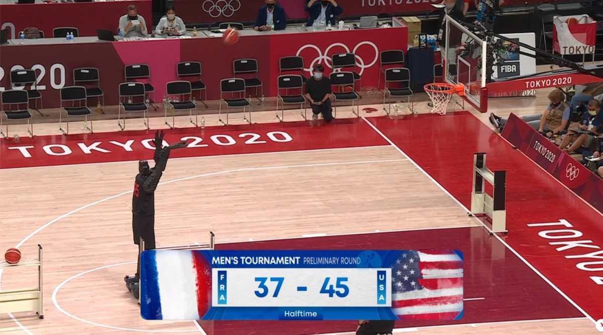 Tecnología sorprendente: Conoce al robot basquetbolista que ha deslumbrado en Tokio 2020
