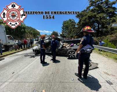 Trágico accidente en ruta Interamericana: mueren cinco personas y dos quedan heridas