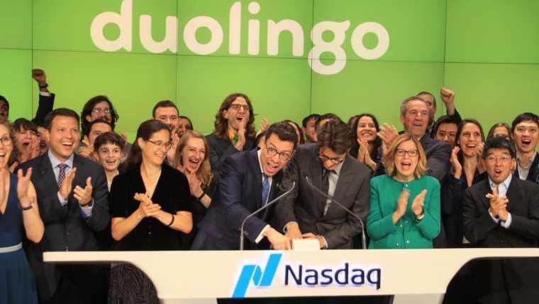 Duolingo enseña más de 40 idiomas para unos 40 millones de usuarios a través de los 500 millones de descargas con los que cuenta su plataforma, con sede en Pittsburgh (Estados Unidos). (Foto Prensa Libre: Twitter de Luis von Ahn)