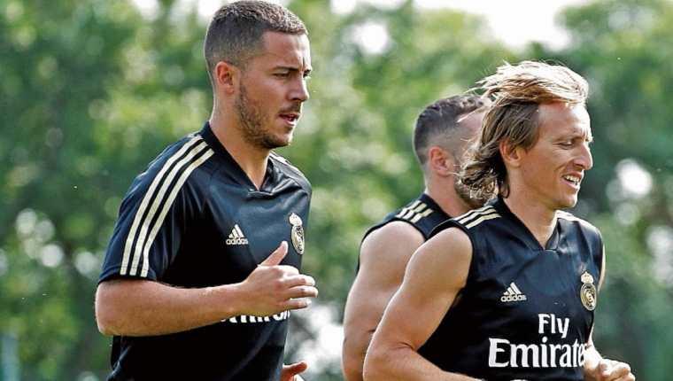 Eden Hazard, el jugador belga que no ha conseguido dar su máximo nivel en el Real Madrid. (Foto Prensa Libre: Hemeroteca PL)