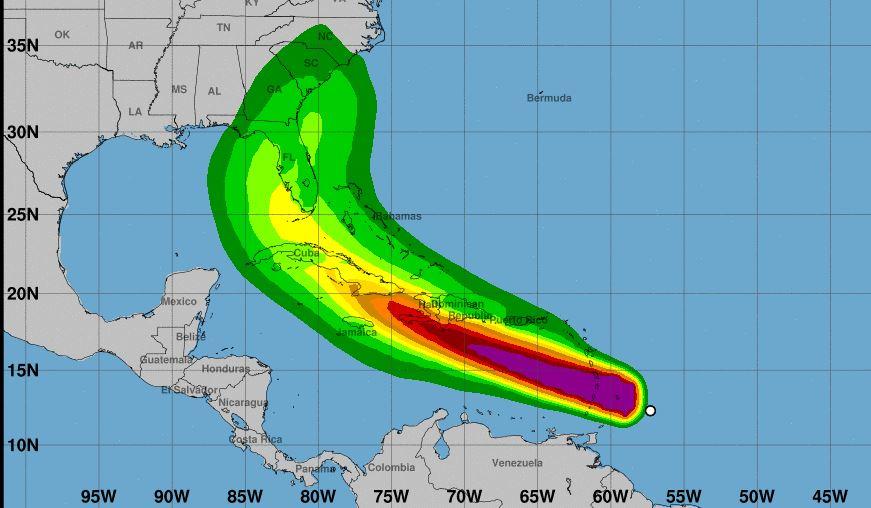 Elsa se convierte en huracán categoría 1: amenaza a Cuba, Barbados y Miami