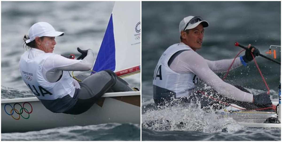 Juan Ignacio e Isabella Maegli se despiden de los Juegos Olímpicos de Tokio 2020