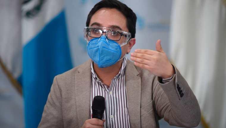 Juan Francisco Sandoval, durante el tiempo que lideró la Fiscalía Especial contra la Impunidad del Ministerio Público, reveló decenas de casos de corrupción. (Foto Prensa Libre: EFE)