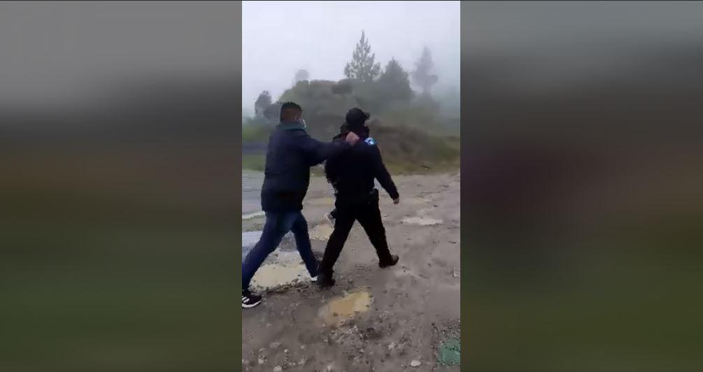Qué dijo Gendri Reyes sobre la agresión a agentes de PNC en Huehuetenango grabada en video