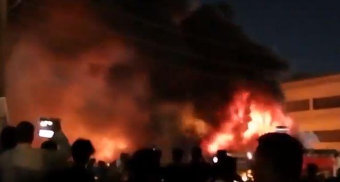 Videos: al menos 52 muertos en incendio en hospital que atendía a pacientes con covid-19 en Irak