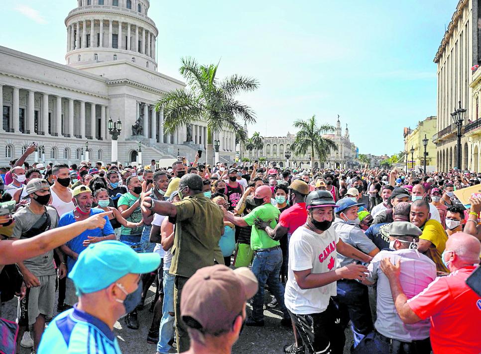 'No hay marcha atrás': los disidentes cubanos se envalentonan a pesar de la represión