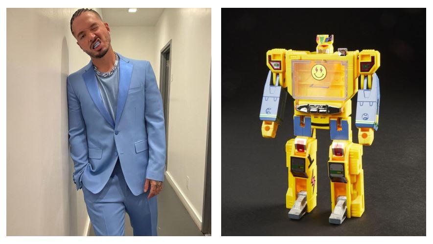 """Del reguetón a los juguetes: Hasbro lanza """"J Balvintron"""" el muñeco de acción de J Balvin"""
