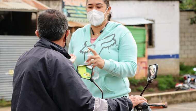 Pobladores de San Martín Jilotepeque permanecerán por 15 días bajo un cordón sanitario que limitará actividades debido al incremento de casos de covid-19. (Foto Prensa Libre: Municipalidad de San Martín Jilotepeque)