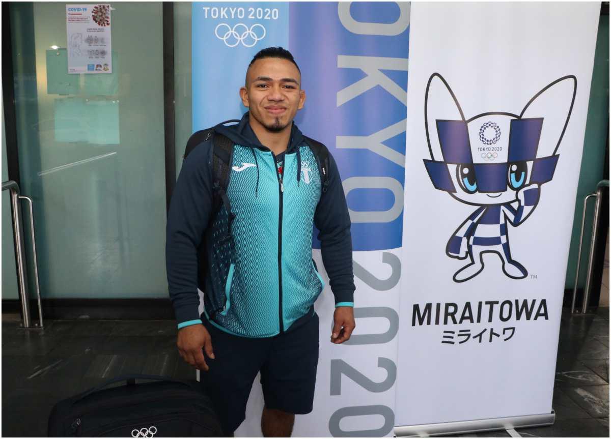Vamos Guate: El judoca guatemalteco José Ramos emprende ilusionado el viaje a Japón