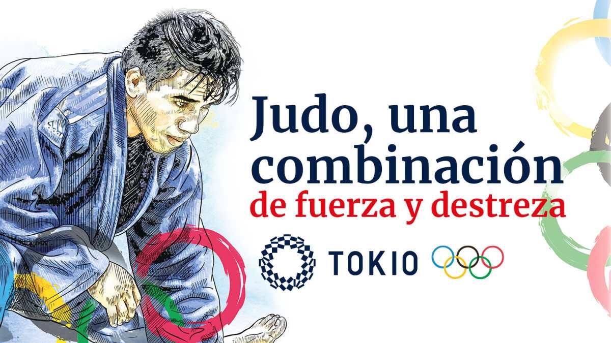 Gráfica   José Ramos y su segunda aventura olímpica como seleccionado de judo