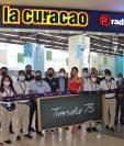 La Curacao y Radio Shack se acercan más  a sus clientes con la apertura de nuevas ubicaciones. Foto Prensa Libre: Cortesía.