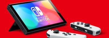 La nueva generación de consolas Nintendo Switch cuenta con un soporte más estable para el juego de sobremesa. Foto: Nintendo/dpa