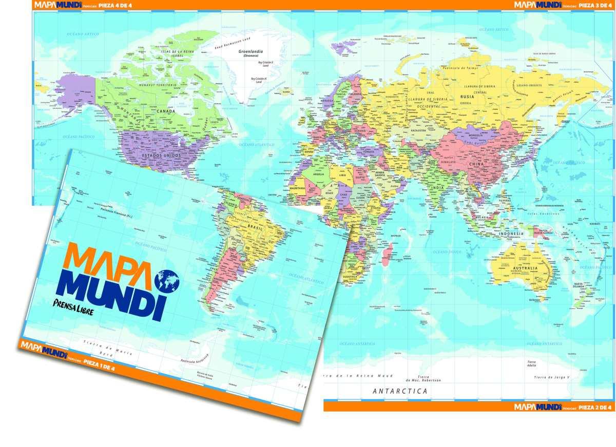 Prensa Libre publicará proyectos formativos: Mapamundi armable y Serie ecológica Verde