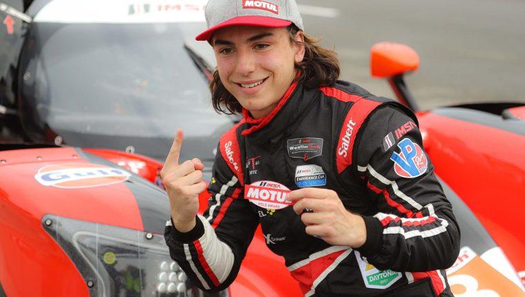 Llarena conquistó este premio en su primera sesión de calificación en una carrera del Campeonato IMSA WeatherTech Sportscar. (Foto cortesía).