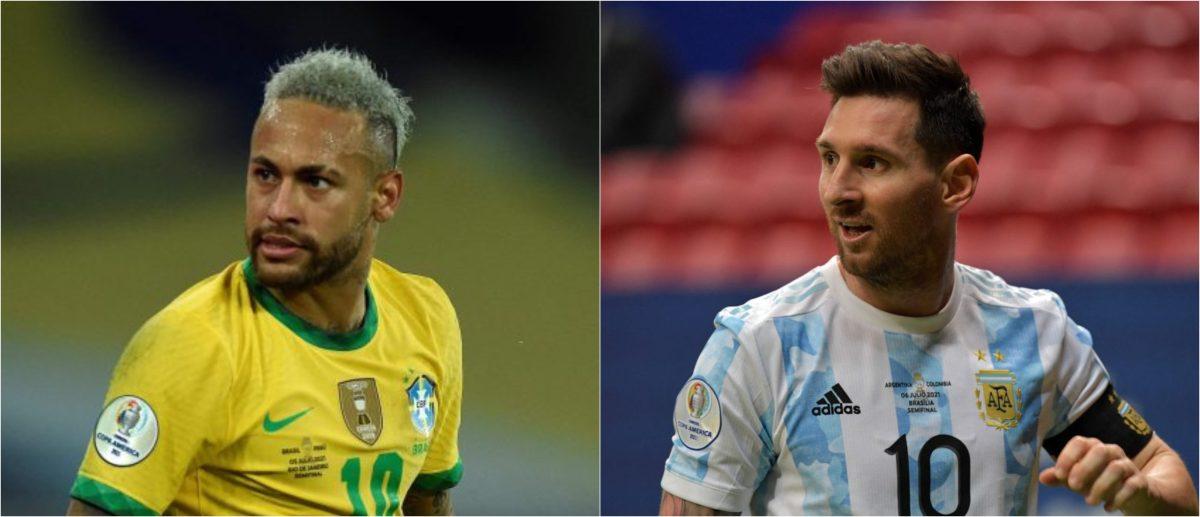 Leo Messi y Neymar, un espectáculo garantizado durante la final en el Maracaná