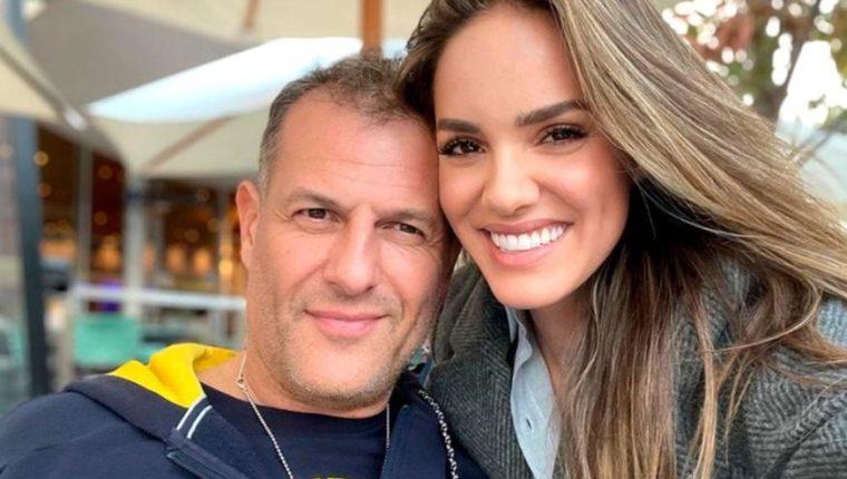Nayara Vit junto a su pareja, Rodrigo del Valle. (Foto Prensa Libre: Tomada de Infobae)