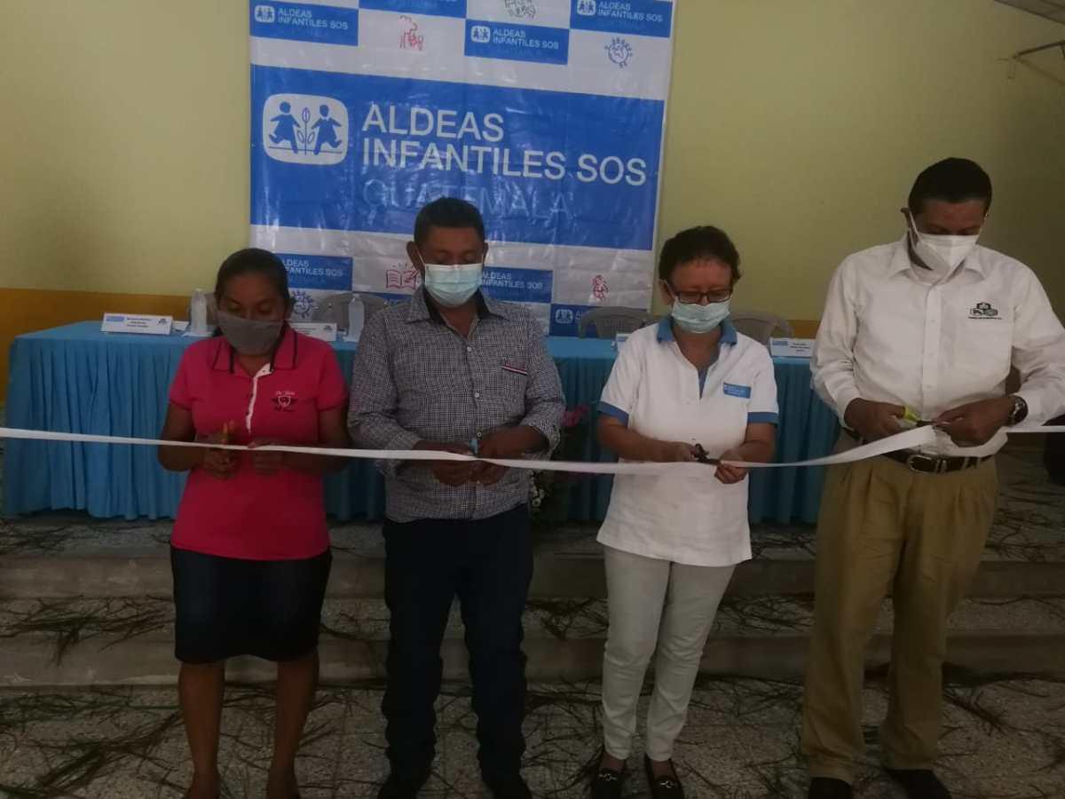 Se unen para fomentar la alimentación saludable en familias de Jocotán, Chiquimula