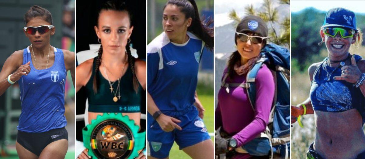 Cinco deportistas guatemaltecas están entre la lista Forbes de las 100 mujeres más poderosas de Centroamérica y República Dominicana