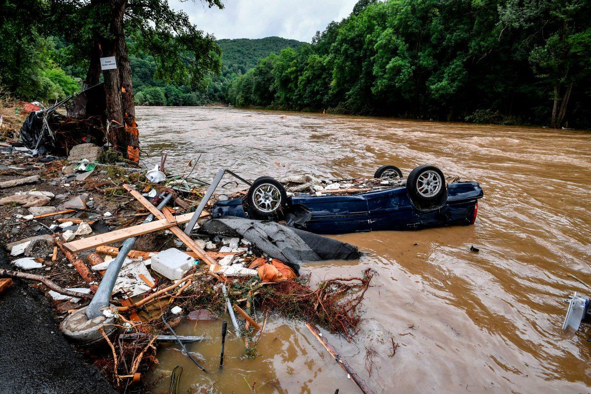 Las devastadoras imágenes de las inundaciones en Alemania y Bélgica que dejan más de 40 muertos