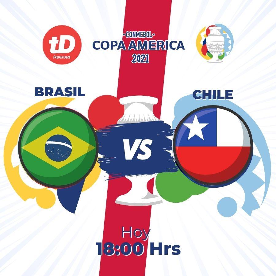 EN DIRECTO | Brasil – Chile