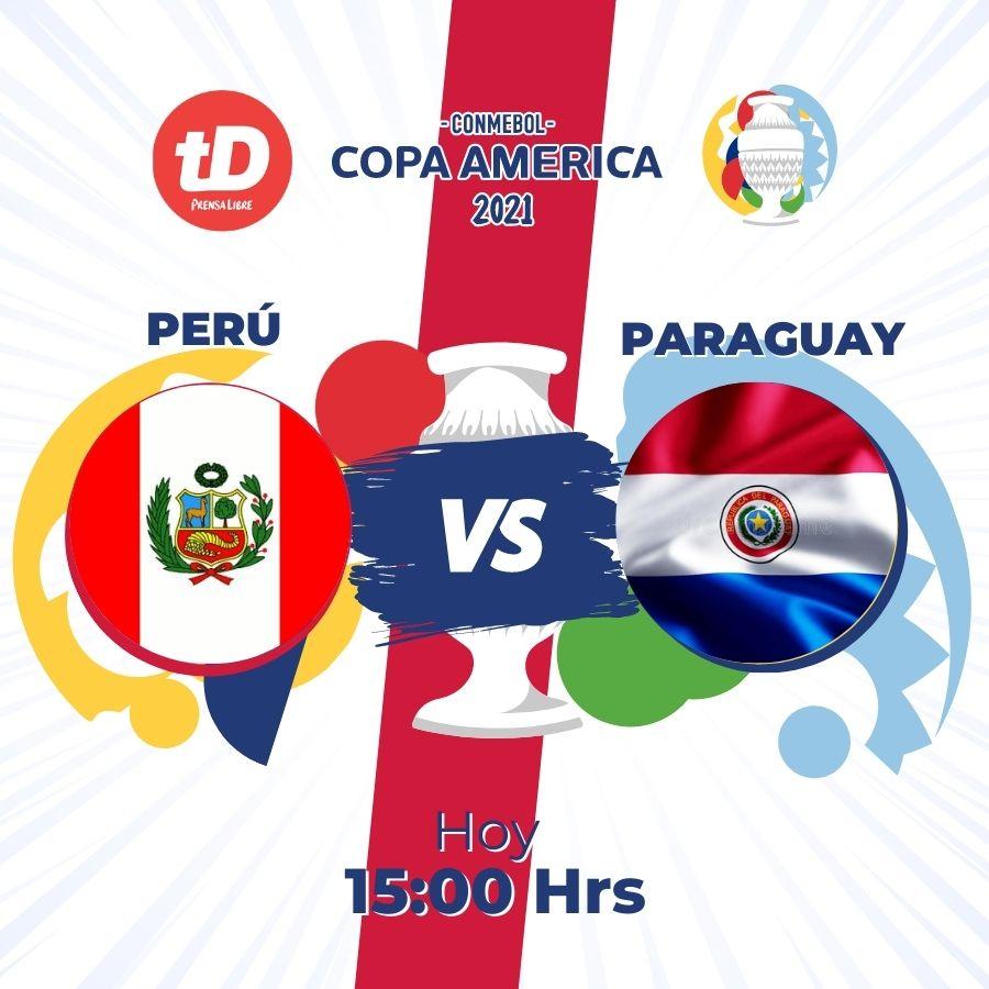 EN DIRECTO   Perú – Paraguay