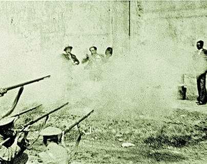 Historia de Guatemala: Fusilamiento de expartidario de Ubico y 12 más en 1934