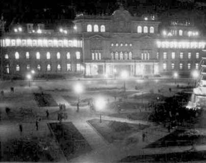 Historia de Guatemala: Se inaugura el Palacio Nacional en 1943