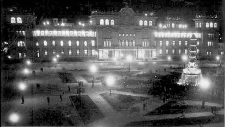 Se inaugura el Palacio Nacional