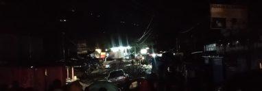 La lluvia de las últimas horas dejó una persona muerta y 2 mil 616 afectados en el país. (Foto Prensa Libre: Conred)