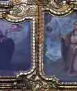 La iglesia católica celebra cada 26 de julio a San Joaquín y Santa Ana, patronos de los abuelos. Imagen del retablo de los cinco señores de la iglesia del Cerrito del Carmen. Foto Prensa Libre: Hemeroteca