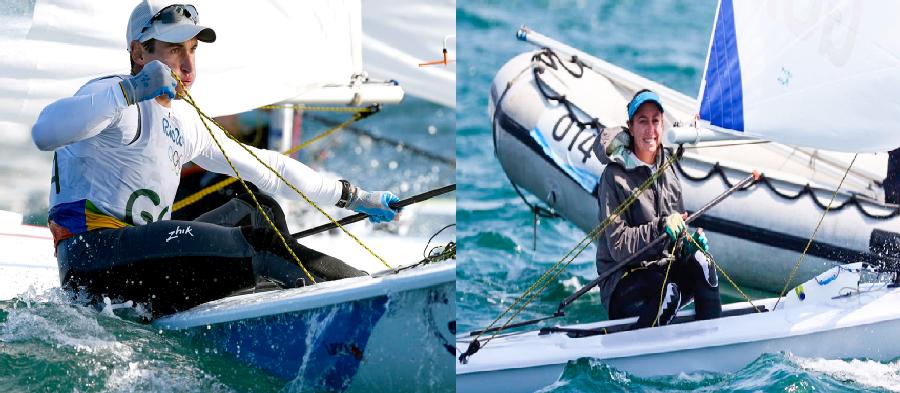 Mientras dormía:  Hermanos Juan Ignacio e Isabella Maegli ocupan puestos 21 y 32 después de seis regatas disputadas