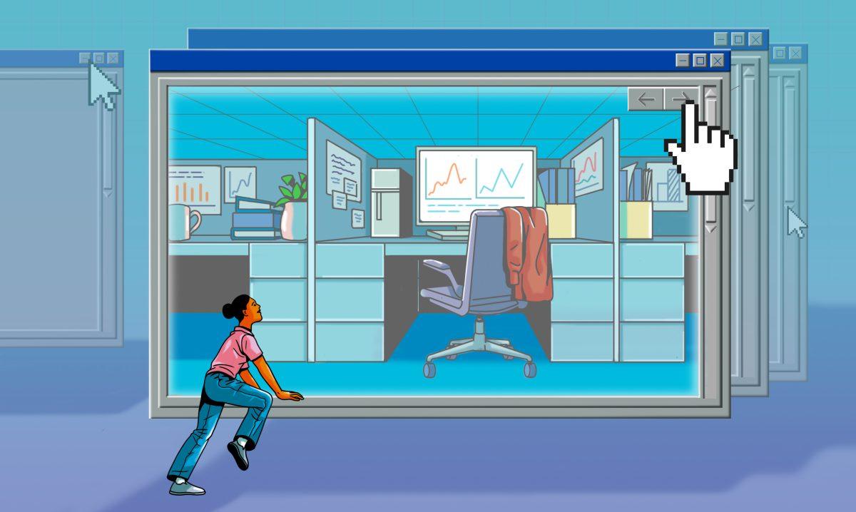 Usa la tecnología a tu favor en el nuevo lugar de trabajo híbrido