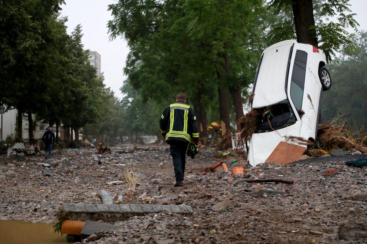 Las imágenes del temporal en Europa que ha dejado más 120 muertos y decenas de desaparecidos