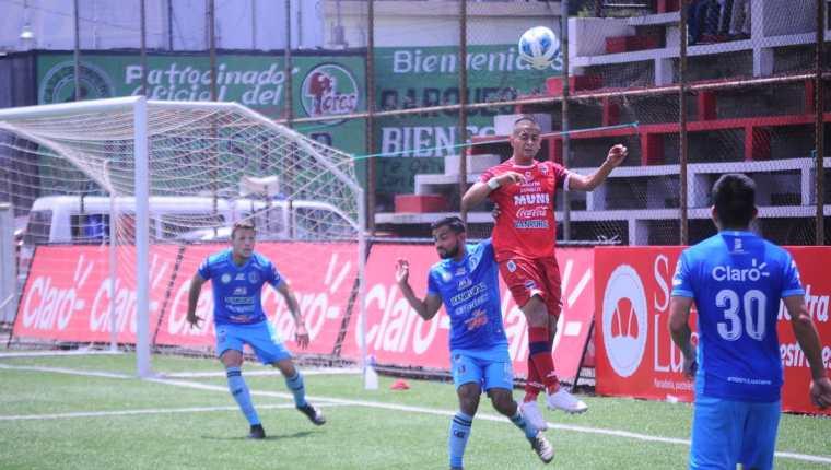 El campeón Santa Lucía remontó en Malacatán ante los toros. Los vencieron 1-2. Foto Malacateco Oficial