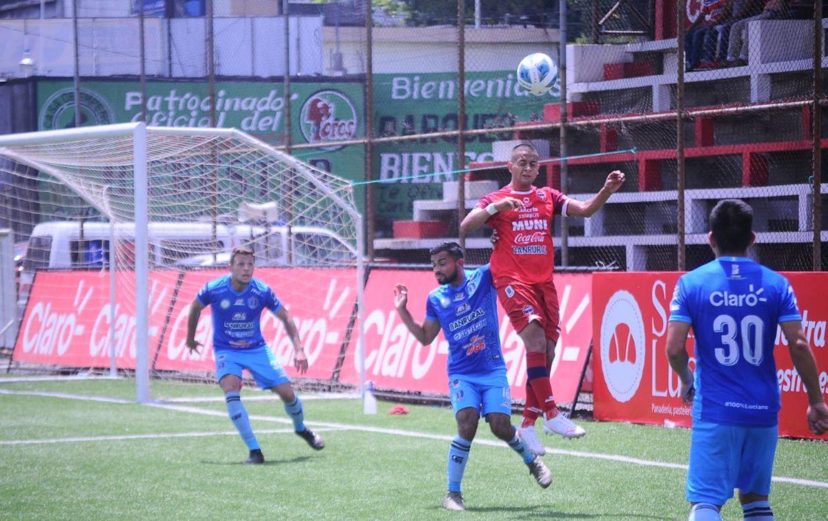 Apertura 2021: El campeón Santa Lucía arranca con victoria de último minuto ante Malacateco