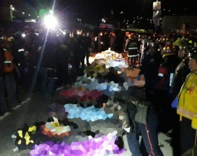 Juez de Sololá cierra proceso de tragedia vial de Nahualá en la que murieron 19 personas