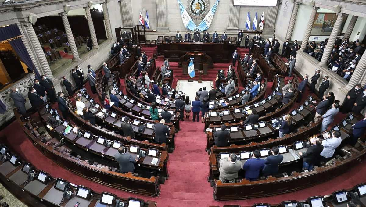 El Congreso de la República abre su segundo periodo de sesiones del año. (Foto Prensa Libre: Hemeroteca PL)
