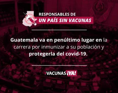 Coronavirus: estos son los responsables de que el país lleve 170 días sin vacunas