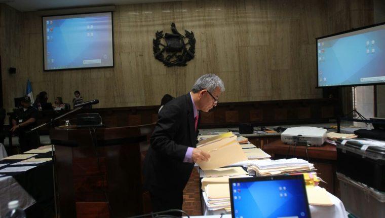El juez Miguel Ángel Gálvez ha tenido bajo su cargo varios procesos por corrupción, como La Línea y Cooptación del Estado. (Foto: Hemeroteca PL)