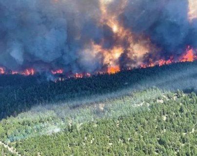 Ola de calor: Evacuaciones masivas y más de 170 incendios forestales que consumen el oeste de Canadá