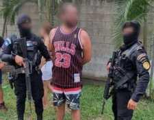 """José Francisco Pérez Cabrera también conocido como """"Pancho"""" fue detenido en Iztapa, Escuintla. (Foto Prensa Libre: MP)"""