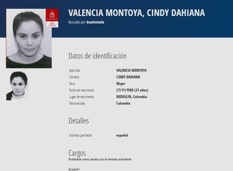 Colombia extradita a Guatemala a mujer que escapó de la cárcel de Chimaltenango con orden de libertad falsa