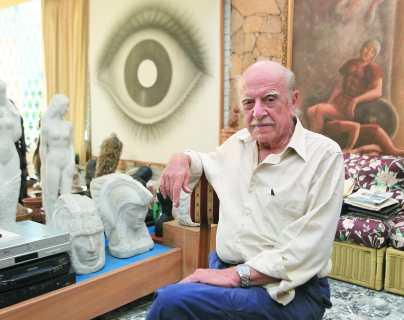 Exponen más de 100 obras de Rodolfo Abularach como un homenaje póstumo