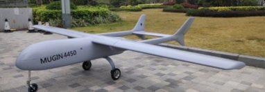 """El """"narcodrone"""" tiene la capacidad de transportar más de 300 libras de carga y volar por 7 horas seguidas. (Foto Prensa Libre: La Capital)"""