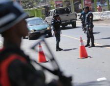 Puesto de registro en Guatemala