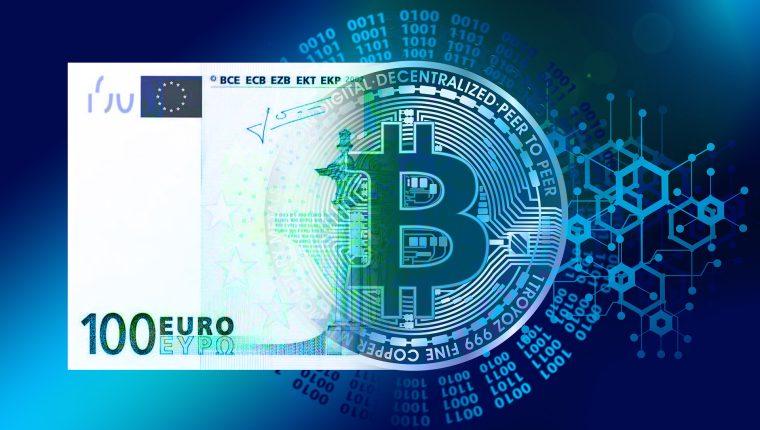 El proyecto del euro digital comienza a tomar forma y sería una alternativa a las criptomonedas. (Foto Prensa Libre: Pixabay)