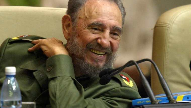 Fidel Castro. (Foto Prensa Libre: Hemeroteca PL)
