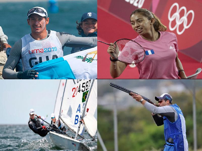 Agenda de competencia de los atletas guatemaltecos para este sábado en Tokio 2020